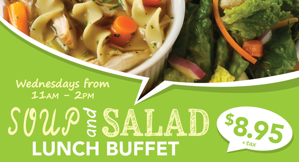 Soup and Salad Buffet