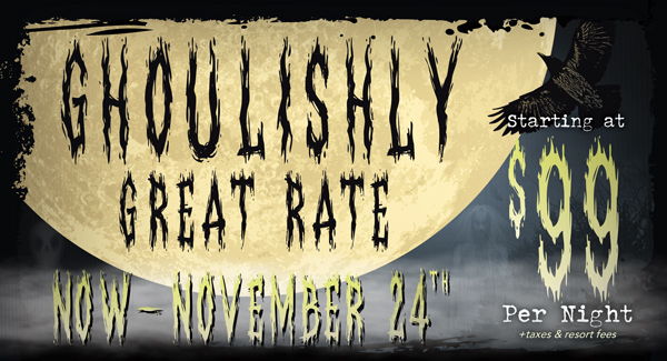 Ghoulishly Great Rate