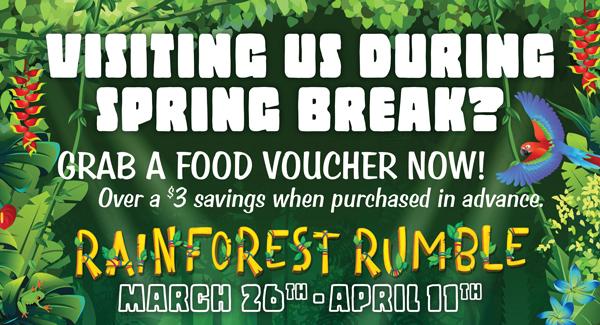 Spring Break Food Voucher